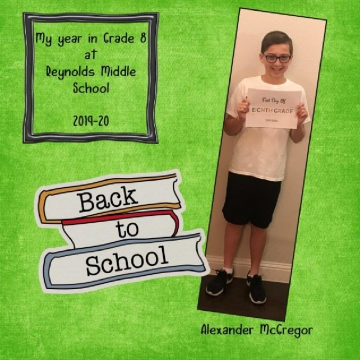 2019-20 - My Year in Grade 8 at Reynolds Middle School