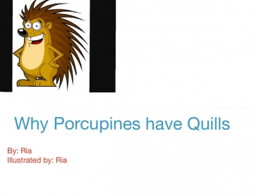 Why porcupines have quills