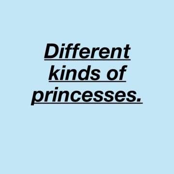 Different princesses