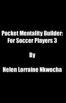 Pocket Mentality Builder: For Soccer Players 3