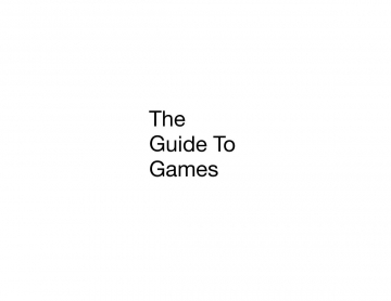 The guide to games