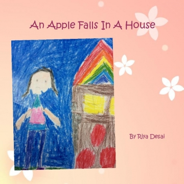 An apple falls in a house