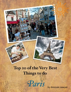 Top 20 of the Very Best Things to do  in Paris