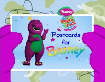 Barney's World Tour: Postcards for Barney