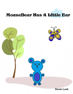 Mousebear Has A Little Ear- Left sided