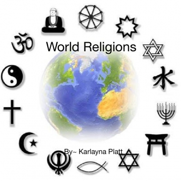 World religions photo album