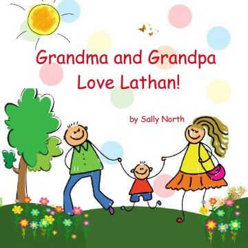 Grandma and Grandpa Love Lathan!