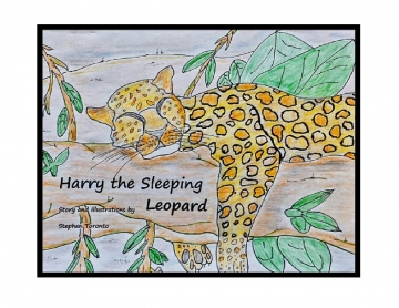 Harry The Sleeping Leopard