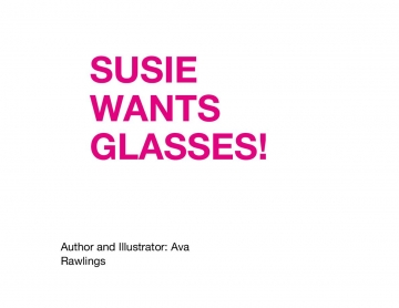 Susie wants glasses