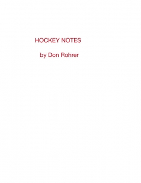 Hockey Notes