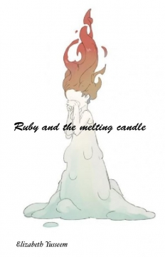 Ruby and the melting candle