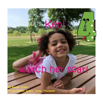 Keni turns 4, Watch her Soar.