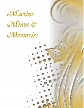 Martins Menus and Memories