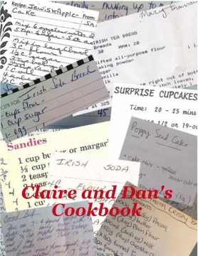 Claire and Dan's Cookbook 3rd edition