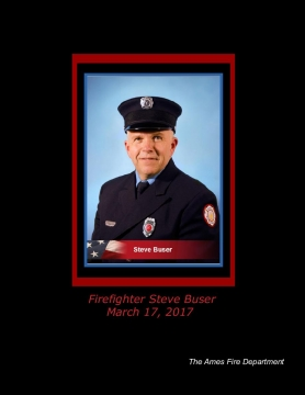 Firefighter Steve Buser March 17, 2017