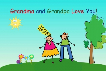 Grandma and Grandpa Love