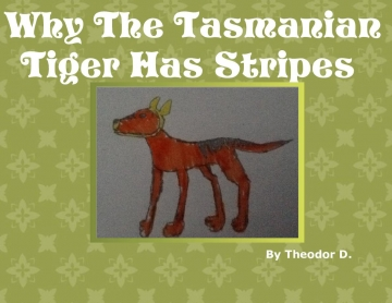 Why Tasmanian Tigers have strips