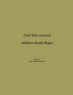Civil War Journal of Addison Smith Boyce