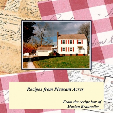 Recipes from Pleasant Acres