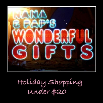 Holiday Shopping under $20