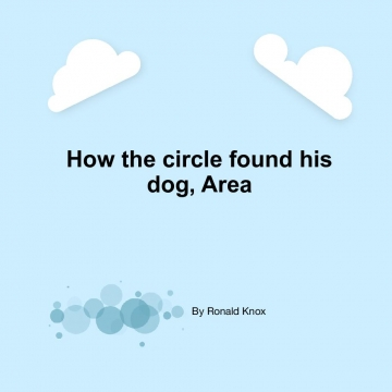 How the circle found his dog, Area