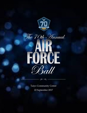 2017 Yokota Air Force Ball