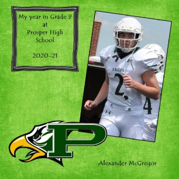 2021-22 - My Year in Grade 10 at Prosper High School