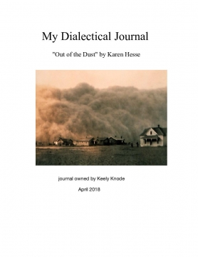 My Dialectical Journal