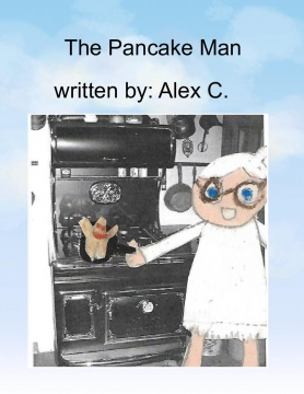 The pancake man