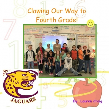Clawing Our Way to Fourth Grade!
