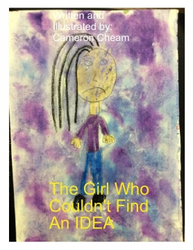 the girl who couldn't find an idea