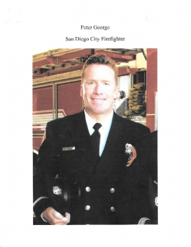 Peter George  San Diego City Firefighter