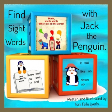 Find Sight Words with Jack the Penguin.
