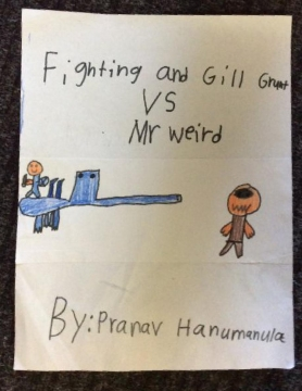 Fighting and Gill Grunt vs Mr.weird
