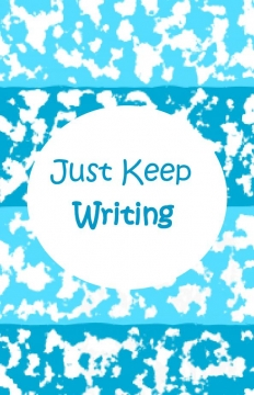 Just Keep Writing Lined Journal