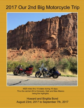 2017 Our 2nd Big Motorcycle Trip Across the USA