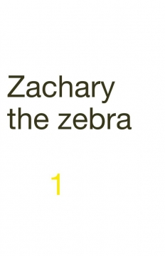 Zachary the zebra