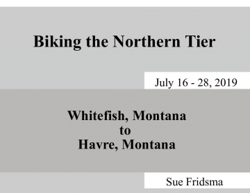 Biking the Northern Tier
