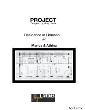 Project Residence  Marios & Athina ""
