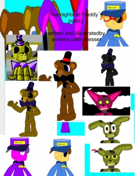 five nights at Freddy´s poetry