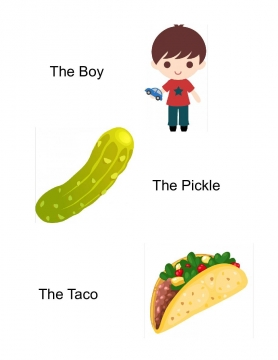 The Boy The Pickle The Taco