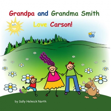 Grandpa and Grandma Smith Love Carson!