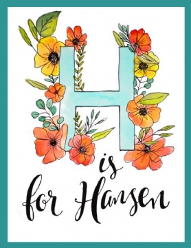 H is for Hansen