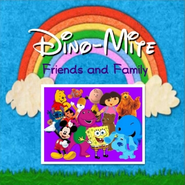 Dino-Mite Friends and Family Book