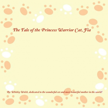 The Tale of the Princess Warrior Cat, Fia