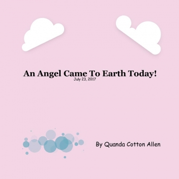 An Angel Came To Earth Today!