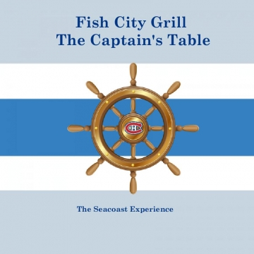 Fish City Grill Captain's Table