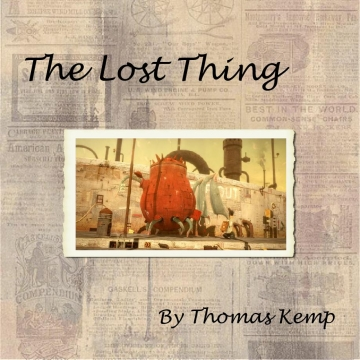 The Lost Thing...aftermath