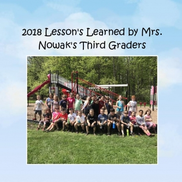 Lessons Learned by Mrs. Nowak's