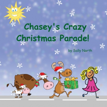 Etsy Girl's Christmas parade template